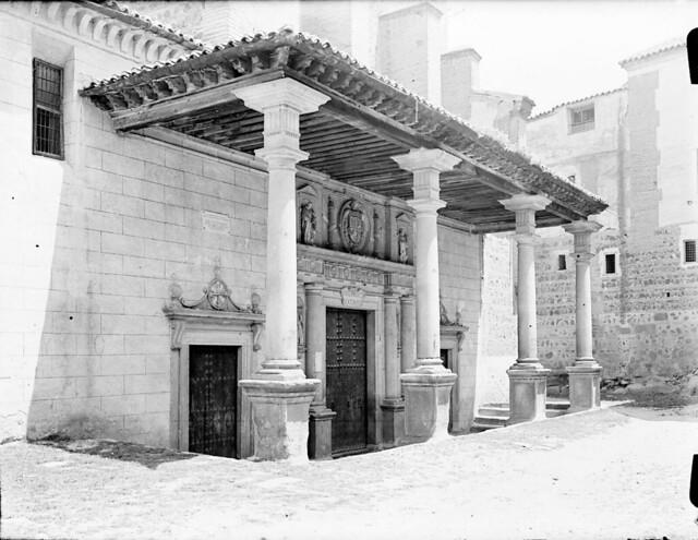 Santo Domingo el Real en los años 20. Fotografía de Otto Wünderlich. © Fototeca del Patrimonio Histórico