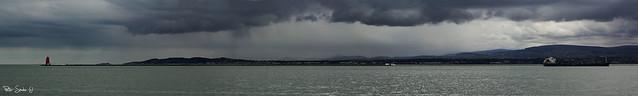 Dublin bay panorama