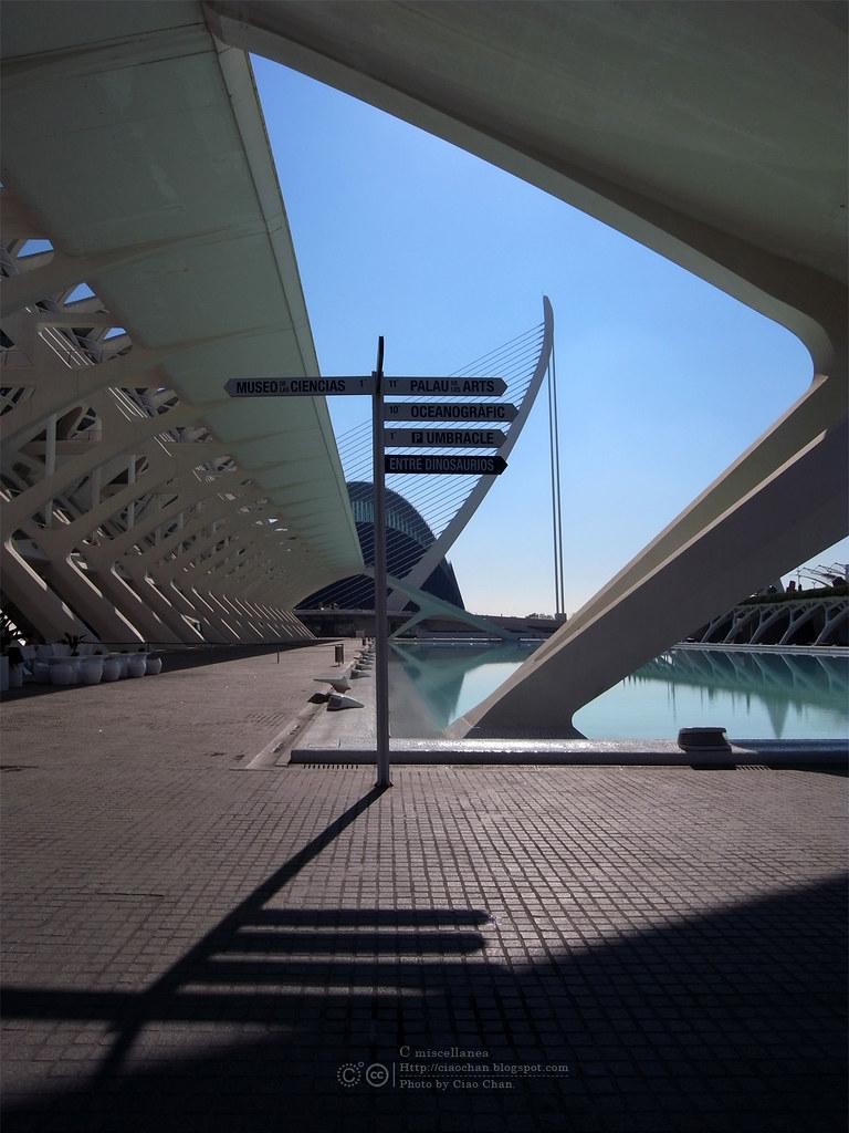 Hola Valencia~瓦倫西亞。藝術科學城 Ciudad de las Artes y las Ciencias     R1043387