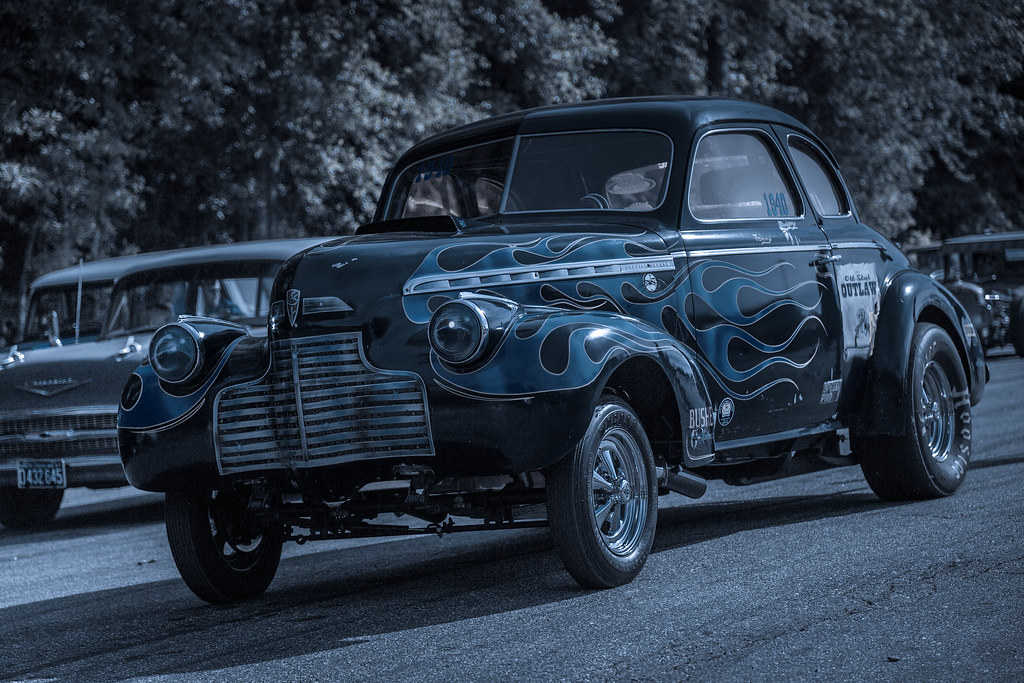 40 Chevy Gasser | Tommy Lumley's Old Skool Outlaw '40 Chevy… | Flickr