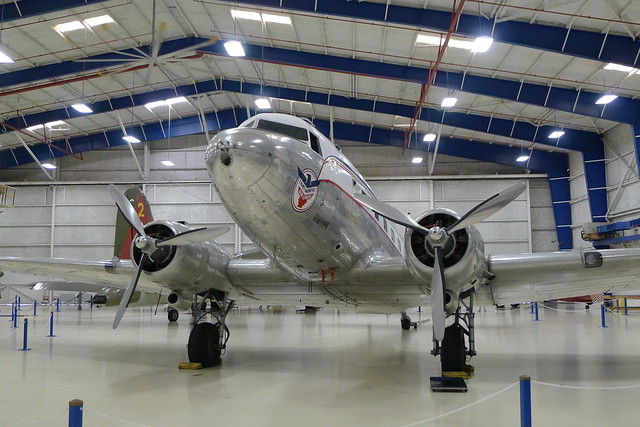 Continental Airlines Douglas DC-3A