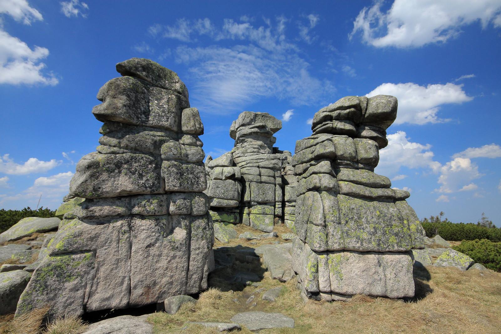 Крконоше Национальный парк Чехии-Польши