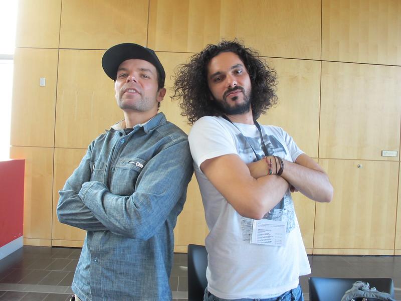 Festival stars Lemon Andersen and Luka Lesson