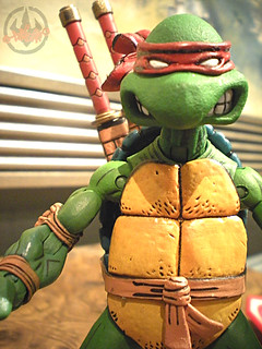 "NECA TEENAGE MUTANT NINJA TURTLES :: ""LEONARDO""  Tube Pack x (( 2008 ))"