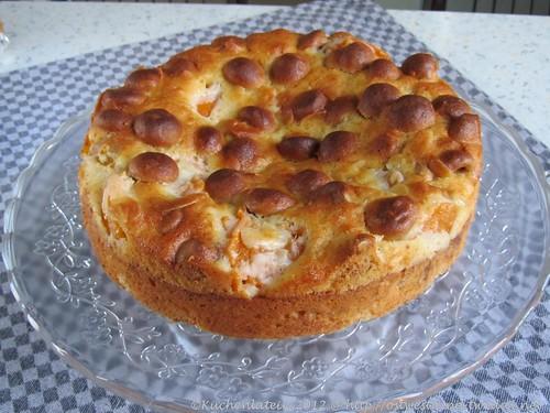 Aprikosen & Amarettini-Kuchen(1)
