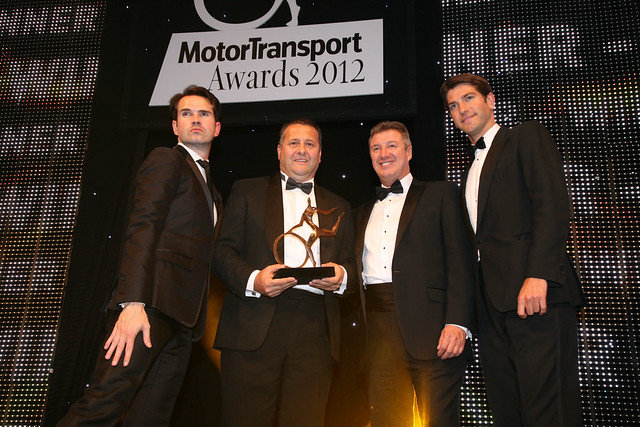 Apprenticeship of the Year at the Motor Transport Awards -- CLICK TO ENLARGE