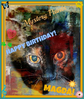 "Mystery Paints ""Happy Birthday Magda!"""