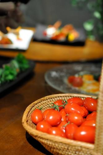 サントリーフラワーズ 六本木農園 トマトメニュー