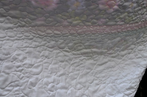 spring promise quilting back