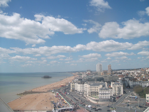 A lovely view of Brighton