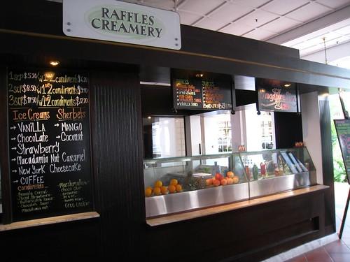Raffles Creamery Ice Cream Stand