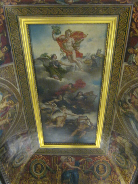 Ceiling at the Louvre