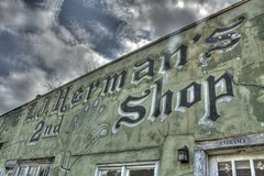 Abandoned Second Hand Store
