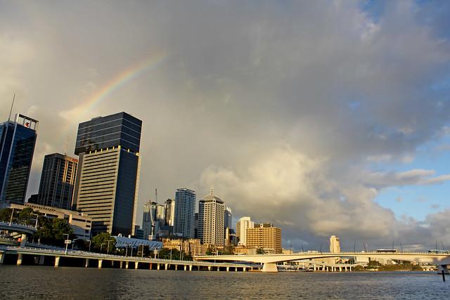 Brisbane rainbow