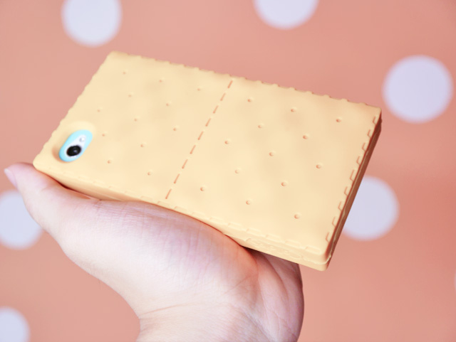 yellow biscuit iPhone cover typicalben