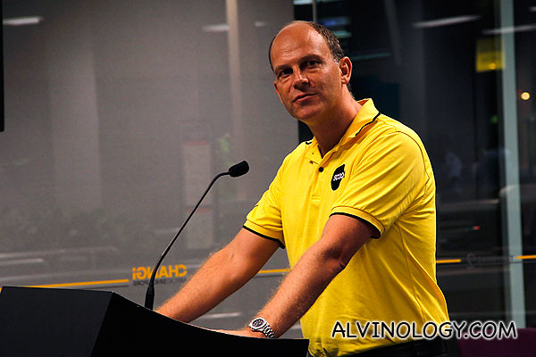 CEO of Scoot, Campbell Wilson