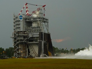 J-2X Powerpack Test Sets Record (NASA, J-2X, SLS, 06/08/12)