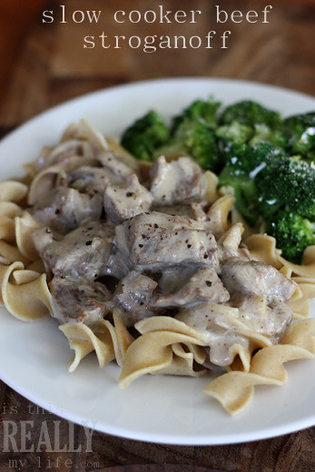 ... beef stroganoff lightened up beef lightened up slow cooker beef
