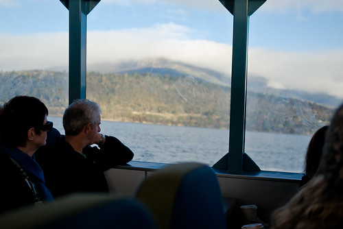 Ferry ride to Mona