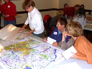 planning meeting, Carthage, NC (by: NCDOT, creative commons)