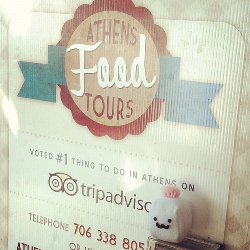 Tofu Baby is thinking about doing the food tour. Athens, Georgia #etsyeverywhere