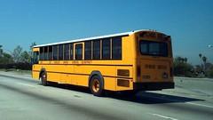 Los Angeles Unified School District - Gillig Phantom School Bus - 6043