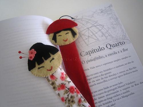 ♥♥♥  Nova colecção de marcadores ... by sweetfelt \ ideias em feltro