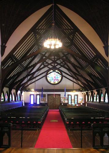 Saint Saviour's interior