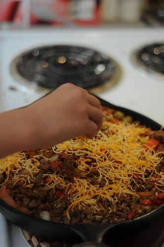 Mexican Deep-Dish Pan Pizza 11 - Two Kid Chefs