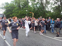 Olympic Torch Relay, Halifax.