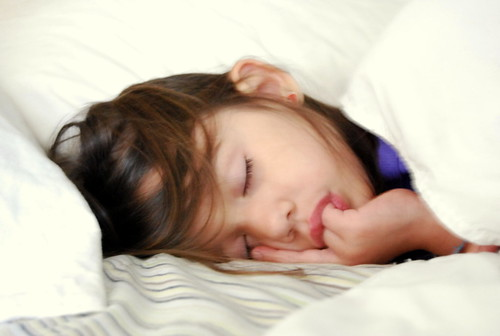 WPIR - sleeping baby