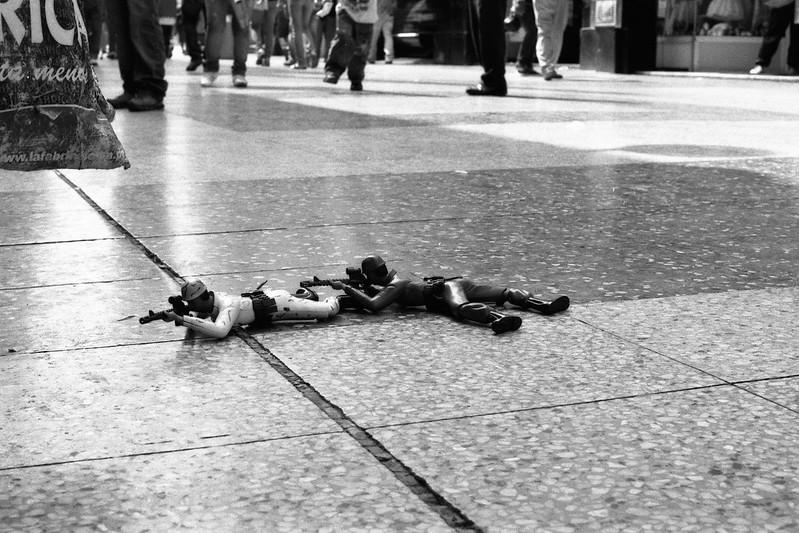 Fotografía convencional, Lima en rollo. Jirón de la Unión