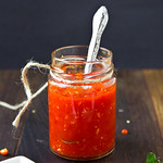 Homemade Garlic Chile Sauce