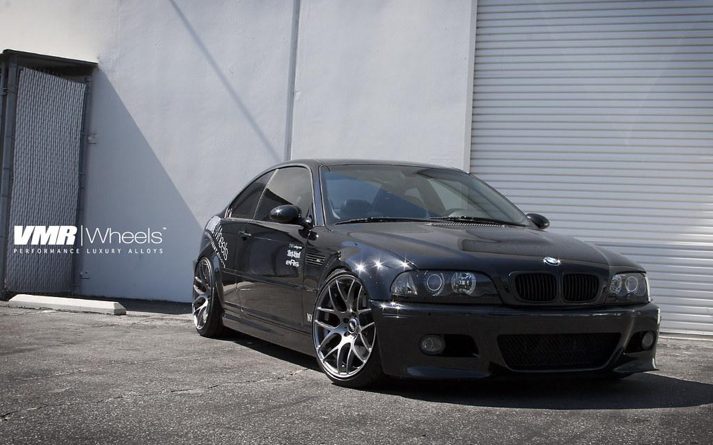 Vmr Wheels Black Sapphire Metallic Bmw E46 M3 Coupe A Photo On