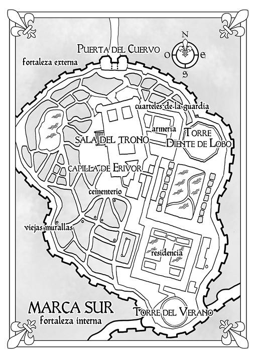 Mapa 2: Shadowmarch, La frontera de las sombras - Tad Williams - Ed. Alamut (pablouria.com)