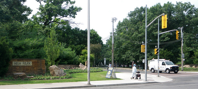 high park bloor street entrance