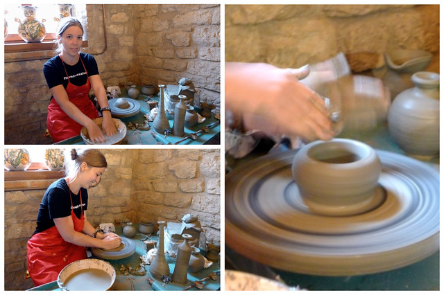 Brooke rocking pottery