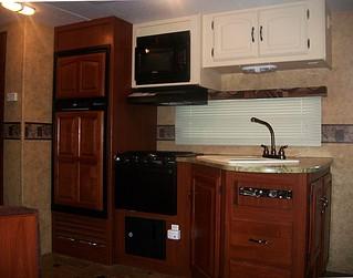 rv kitchen area full shot