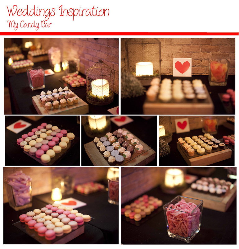 Friday wedding candy bar