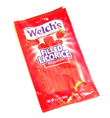 Welch's Filled Licorice Strawberry