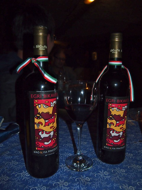 Bull's Blood wine