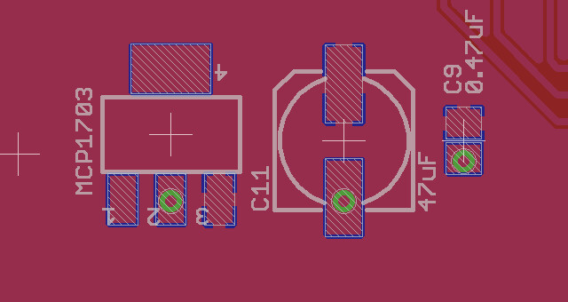 Pcb Layout Why Vias Under Pads Are A Bad Idea Adafruit Industries Makers Hackers Artists Designers And Engineers