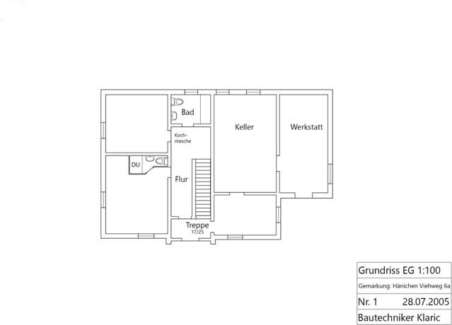 Haupthaus EG Toiletten