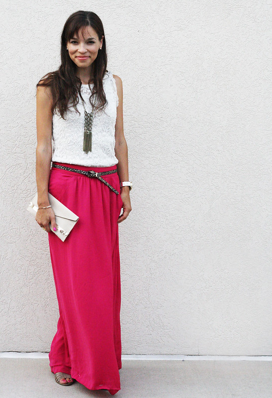 Lace + Maxi Skirt