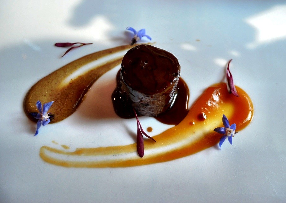 One of 17 courses at El Celler de Can Roca, Girona Spain