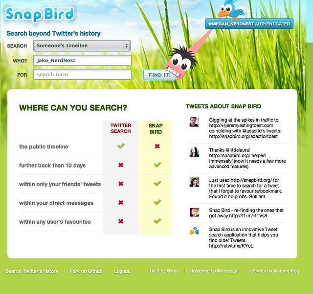 SnapBird