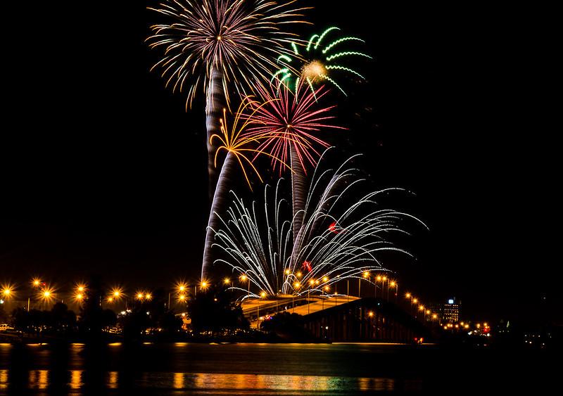 Melbourne Fireworks - DSC_1040