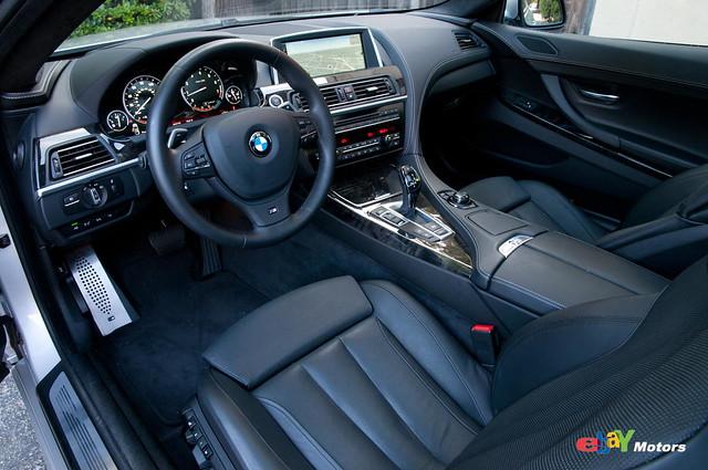 2012 BMW 650i interior