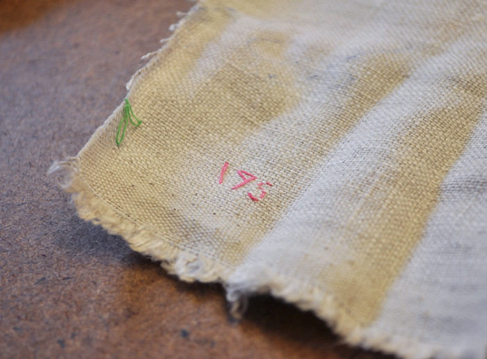 selvedge markings