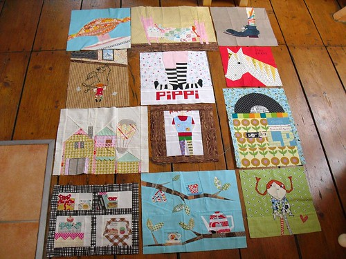 Cocorico Pippi blocks